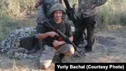 Юрій Бачал, боєць-доброволець
