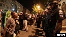 Protest la Washington DC