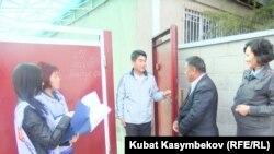 Ыкчам топ тизме тактоо учурунда, Бишкектин Бакай-Ата конушу, 15-октябрь.