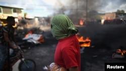 Протести во Хондурас по изборите.