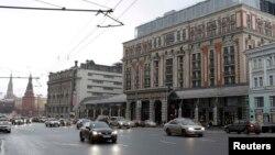 Отель Ritz-Carlton в центре Москвы.