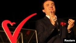 Albin Kurti, kandidat për kryeministër i Lëvizjes Vetëvendosje.
