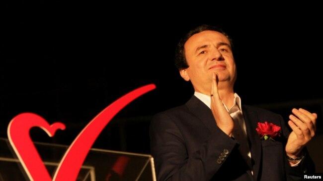 Albin Kurti, i nominuari i Vetëvendosjes për kryeministër