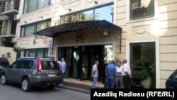 Milli Şuranın Tbilisi toplantısının keçirildiyi mehmanxana