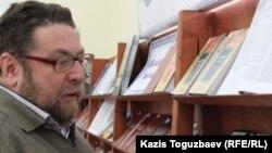 Журналист Андрей Свиридов. Алматы, 24 желтоқсан 2014 жыл.