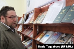 """KАндрей Свиридов, журналист, бывший член общества """"Адилет"""". Алматы, 24 декабря 2014 года."""