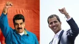 Nicolas Maduro i Juan Guaido