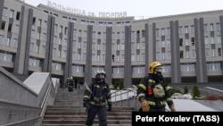 Пожар в больнице Св. Георгия