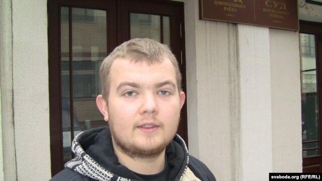 Belarusian opposition activist Paval Vinahradau