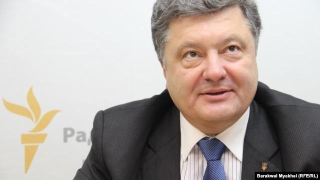 """Chocolate king"" Petro Poroshenko"