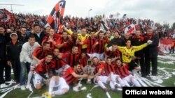 ФК Вардар - шампион на Македонија за 2012