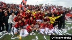 Архивска фотографија: ФК Вардар - шампион на Македонија за 2012