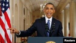 Президент США Барак Обама объявляет о своем указе об иммиграции