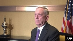 U.S. Defense Secretary Jim Mattis (file photo)