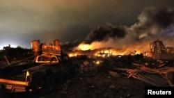 Взрыв в Техасе. 18 апреля 2013