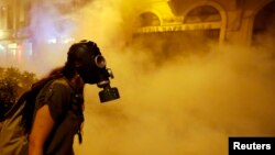 سال گذشته میلادی در نقاطی از جهان اعتراضات «سرکوب» شدند. در تصویر اعترضات در ترکیه