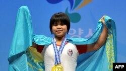 Қазақстандық ауыр атлет Зүлфия Чиншанло