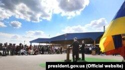 Спільний контроль на пункті пропуску «Кучурган» урочисто запровадили президент України Петро Порошенко і прем'єр-міністр Молдови Павел Філіп, 17 липня 2017 року