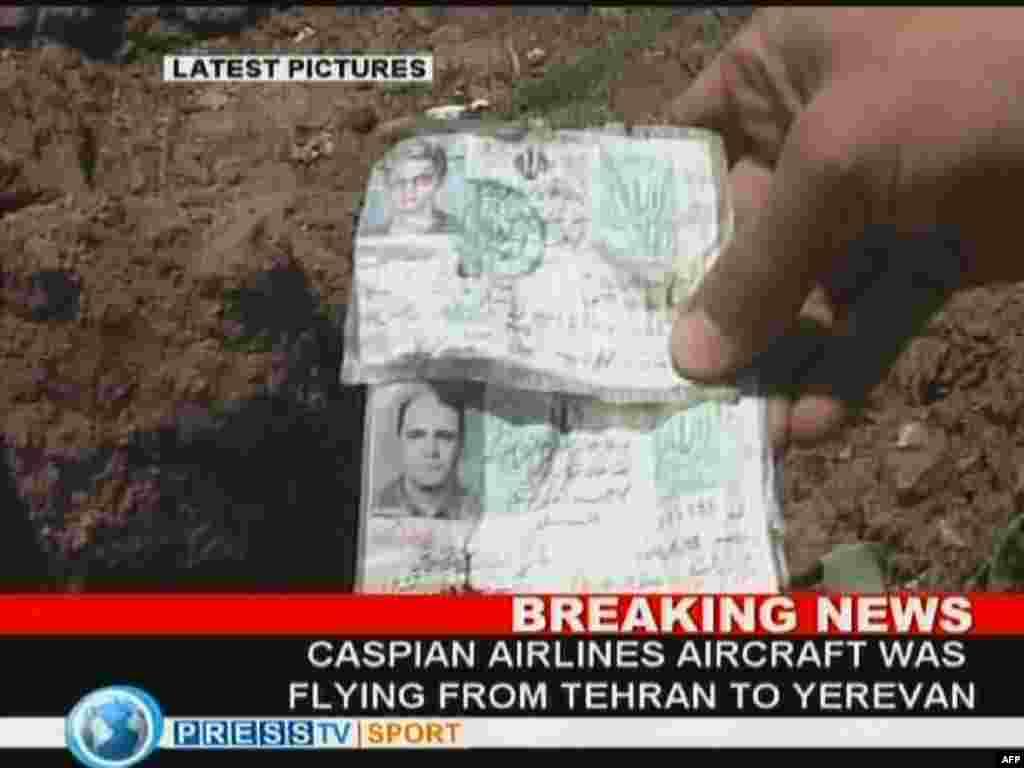 На северо-западе Ирана потерпел катастрофу пассажирский самолёт, на борту которого находились около 170 человек