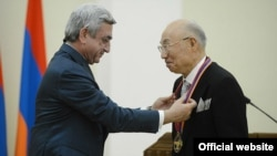 Фотография пресс-службы президента Армении