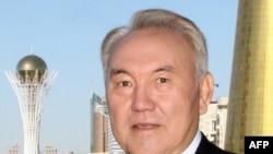 Президент Казахстана Нурсултан Назарбаев. Астана, 6 октября 2009 года