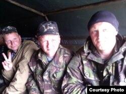 Покійний Сергій Сідлецький, позивний «Грізлі», – крайній праворуч