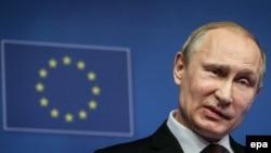 Samit EU - Rusija kojem je prisustvovao i ruski predsjednik Vladimir Putin održan je u januaru 2014.