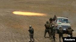 Ирактагы күрт күчтөрү Мосулдун тегерегиндеги кыштактарга чабуулду 14-август таңда башташты.