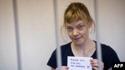Задержанная в Мурманске активистка Greenpeace из Финляндии Сини Саарела