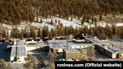 Один из рудников Омсукчанской горно-геологической компании