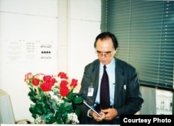 Джованни Бенси в день нашего интервью, 18 июля 2002, Прага