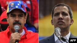 Venezuelan President Nicolas Maduro (left) and opposition leader Juan Guaido (composite file photo)