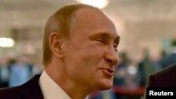 Володимир Путін. Мінськ, 11 лютого 2015 року