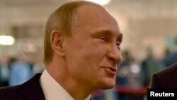 Владимир Путин. Минск, 11 февраля 2015 года