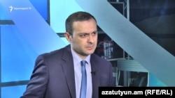 Координатор инициативы «Отвергни Сержа» Армен Григорян (архив)