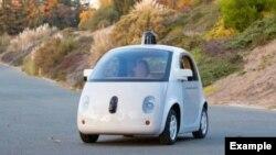 """Google """"özünüsürən"""" avtomobillərindən biri"""