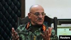 د افغانستان د ملي پوځ مشر، جنرال شېر محمد کريمي