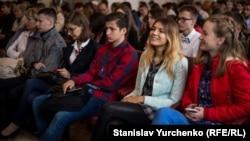 Открытие Таврического национального университета имени Вернадского в Киеве, сентябрь 2016 года