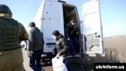 Обмен пленными в Донбассе (архивное фото)