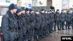 Наряд милиции готов к работе