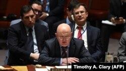 рускиот амбасадор во ОН Василиј Небензија