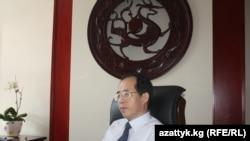 Посол Китайской Народной Республики в Бишкеке Ван Кайвэнь (Wang Kaiwen). 07.7.2011.
