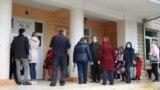 Alegerile la o secție din Orhei