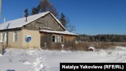Деревня Быган. Местная школа