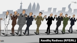 Milli birlik. Karikatura