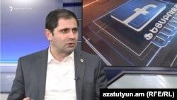 Министр территориального управления и инфраструктур Сурен Папикян (архив)