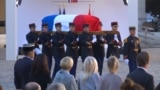 France Bid Farewell To Singer Aznavour GRAB
