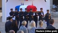Похороны Шарля Азнавура, Париж, 5 октября 2018