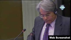 Rupert Smith na suđenju Karadžiću, 15. veljače 2011.