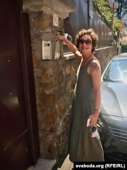 Каля амбасады ў Рыме, Італія